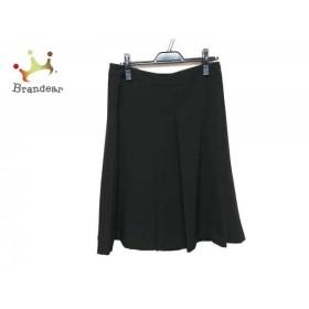 アニエスベー agnes b スカート サイズ40 M レディース 黒     スペシャル特価 20190802
