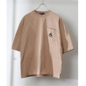 [マルイ] メンズTシャツ(KANGOL / カンゴール 417 別注 タグ クルーネック TEE)/417エディフィス(417 EDIFICE)