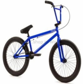"BMX 2019年純正タイプO  - コンプリートBMXバイク -  20 ""GLOSS BRIGHT BLUE SPLATTER"