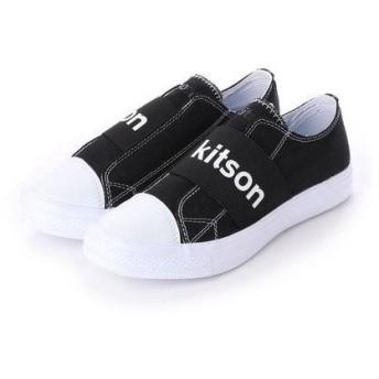 キットソン kitson カジュアルキャンバススニーカー KS-223 (ブラック)