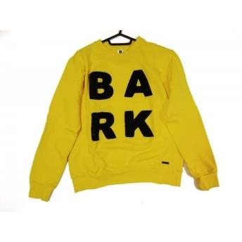 【中古】 バーク Bark トレーナー サイズS レディース イエロー 黒