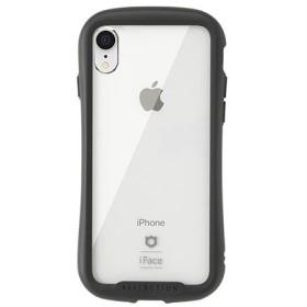 [iPhone XR専用]iFace Reflection強化ガラスクリアケース 41-907207 ブラック