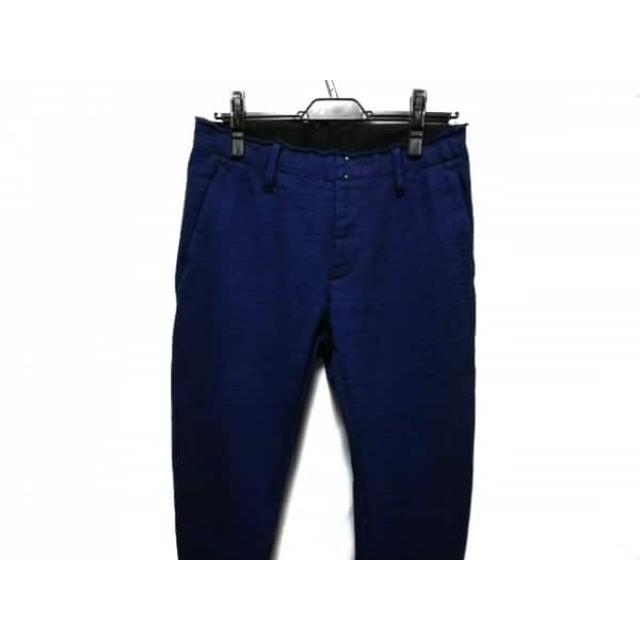 【中古】 ダブルジェイケイ WJK パンツ サイズS メンズ ブルー