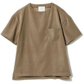 [マルイ]【セール】BEAMS LIGHTS / ピーチ起毛 ストレッチ ウーブン Tシャツ/ビームス ライツ(メンズ)(BEAMS LIGHTS)