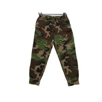 【中古】 ポロラルフローレン パンツ サイズL メンズ ダークグリーン 黒 ダークブラウン 迷彩柄