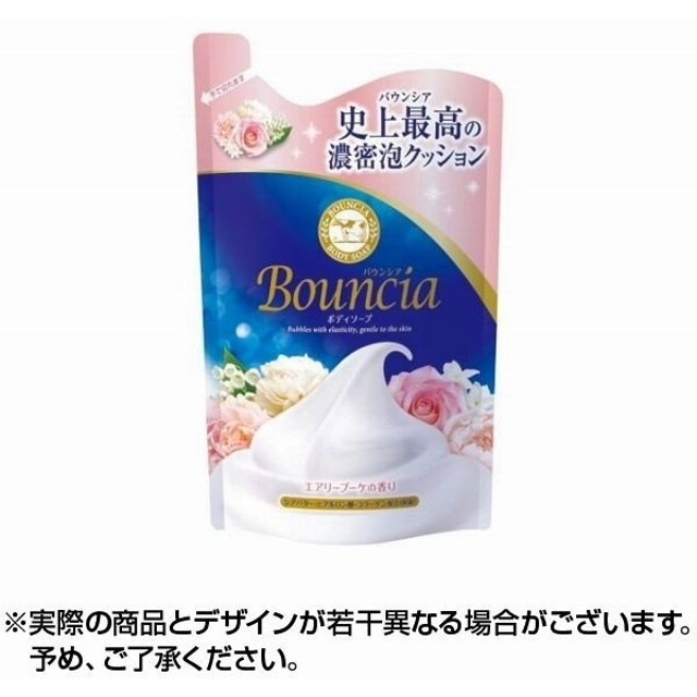 【キャッシュレス還元対象】バウンシアボディソープエアリーブーケの香り詰替用 400ml ×1個