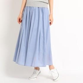 [マルイ]【セール】【洗える】【ウエストゴム】レーヨン混ギャザースカート/デッサン(レディス)(Dessin Ladies)