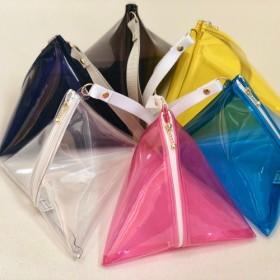 PVC 三角バッグ・6color