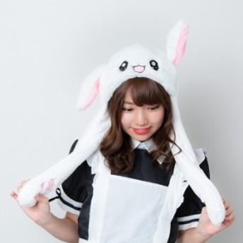 ハロウィン 小物 うさぎ うさ耳 ぴこぴこ帽子 コスチューム ウサギ 流行 被りもの コスプレ こすぷれ かわいい TikTok instagram SNS N-A