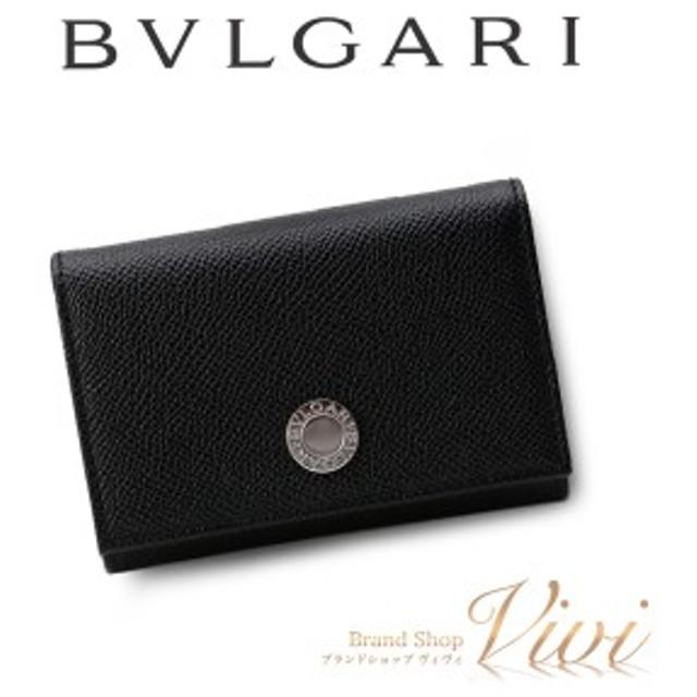 the latest 3e793 c5ad2 ブルガリ カードケース メンズ BVLGARI カードケース 25740 BLK ...
