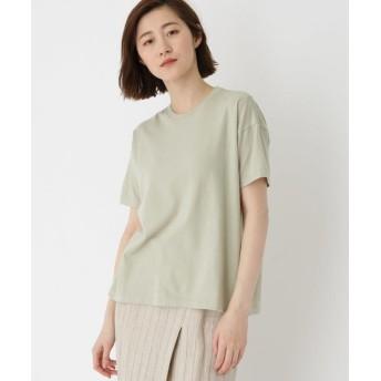 DRESSTERIOR(Ladies)(ドレステリア(レディース)) ◆AURALEE(オーラリー)スーパーファインコットン シームレス天竺Tシャツ