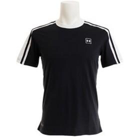 【Super Sports XEBIO & mall店:トップス】【オンライン特価】 アンストッパブル ストライプショートスリーブTシャツ #1329276 BLK/OXW AT