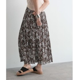 OZOC / オゾック [洗える]ワッシャープリーツスカート