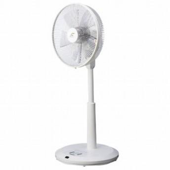 ユーイング リビング扇風機 [DCモーター搭載/リモコン付き] UF-DSR30M-W ホワイト
