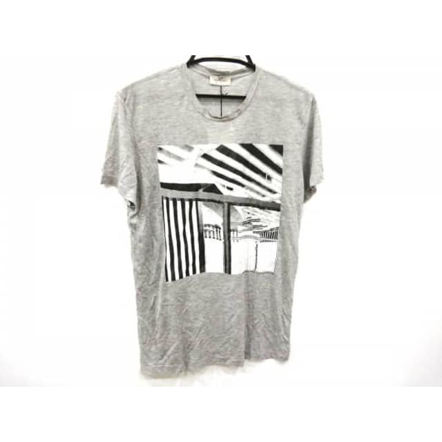 【中古】 バレンシアガ BALENCIAGA 半袖Tシャツ サイズS レディース グレー