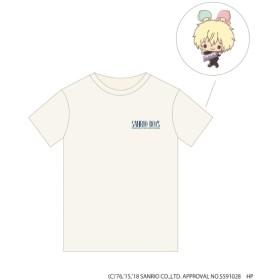 [マルイ] サンリオ男子 トレーディングポストカード付き Tシャツ/プラチナオーラ(PLATINUM AURA)