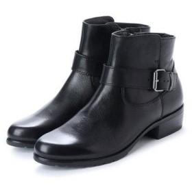 ベルフローリー BELL FLORRIE ベルテッドショートブーツ (ブラック)