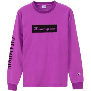 ネオンロングスリーブTシャツ 19SS スタンダード チャンピオン(C8-P401)【5400円以上購入で送料無料】
