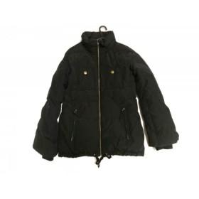 【中古】 プラステ PLS+T(PLST) ダウンジャケット サイズ2 M レディース 黒