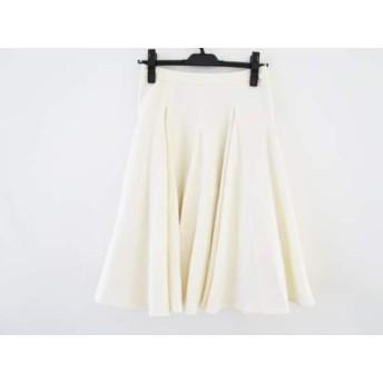 【中古】 ザ ヴァージニア The Virgnia スカート サイズ36 S レディース アイボリー