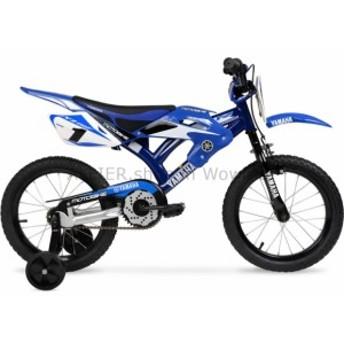 """BMX 16 """"BMXモトヤマハボーイズバイクブルースチールフレームキッズ自転車モトクロススタイル  16"""" BMX Moto Y"""