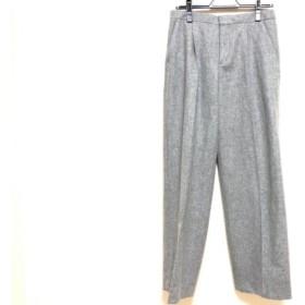 【中古】 ドゥロワー Drawer パンツ サイズ36 S レディース グレー