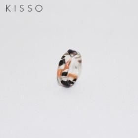 624973a7972a5 キッソオ ピンキーリング CO7 フラワーグリーン 指輪 KISSO 鯖江 メガネ素材