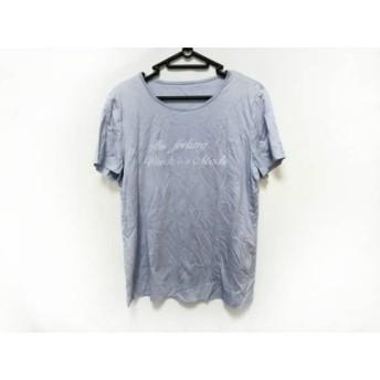 【中古】 レリアン Leilian 半袖Tシャツ サイズ11 M レディース 美品 ライトブルー