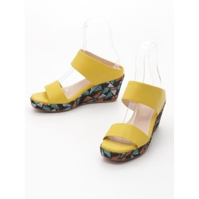 【大きいサイズレディース】ウエッジソールミュール シューズ(靴) サンダル