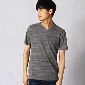 【SALE(伊勢丹)】<ARTISAN MEN> サイロスラブ コンビネーション Tシャツ(5942TL03) グレー【三越・伊勢丹/公式】