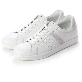 エコー ECCO SOFT 1 W Shoe (WHITE/SHADOW WHITE)