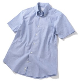 [マルイ] SD:【GIZAコットン】 カラミ ショートスリーブ ボタンダウンシャツ/シップス(メンズ)(SHIPS)