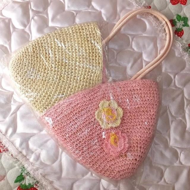 籐編みバッグ C0001