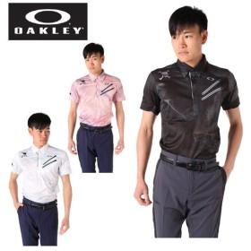 オークリー ゴルフウェア 半袖シャツ メンズ ダブルファスナー半袖シャツ 434395JP OAKLEY