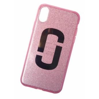 【セール 40%OFF!】MARC JACOBS マークジェイコブス iPhone XR対応ケース SNAPSHOT / M0014907 ピンク