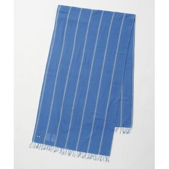【SALE(伊勢丹)】<loomer> STストライプストール blue 【三越・伊勢丹/公式】
