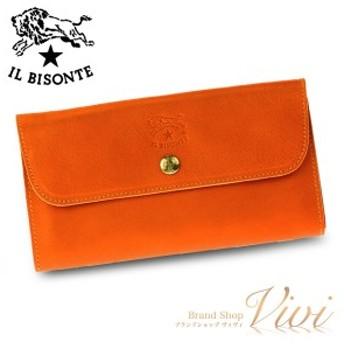 イルビゾンテ 長財布 メンズ IL BISONTE 長財布 C0842 166 ラッピング無料 UE9085 送料無料