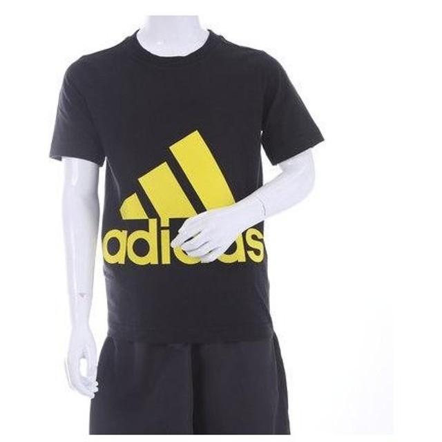 アディダス adidas ジュニア 半袖Tシャツ Boys ESS スーパービッグロゴ Tシャツ BR1438