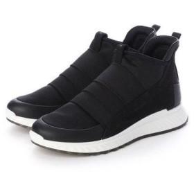 エコー ECCO ST.1 W Sneaker (BLACK/BLACK)