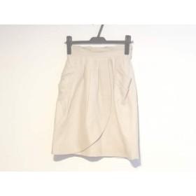 【中古】 アプワイザーリッシェ Apuweiser-riche スカート サイズ1 S レディース ピンクベージュ