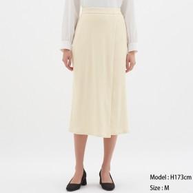GU リブラップミディスカート
