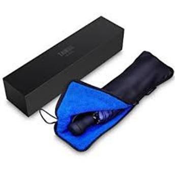 折りたたみ傘 軽量 メンズ 軽量 235g Teflon超撥水 晴雨兼用 傘カバー付き おりたたみ傘 手動開閉 折り畳み傘(ブルー) MYR
