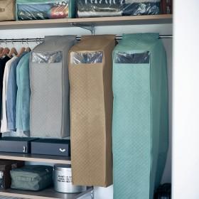 消臭・抗菌機能が続くまとめて衣類カバー