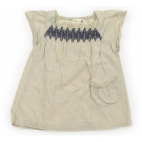 ed9201abb047b  トロワラパン troislapins ワンピース 80サイズ 女の子 USED子供服・ベビー服