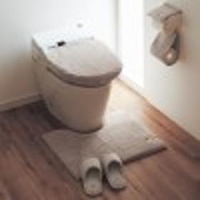 もこもこボリュームのトイレマット・フタカバー(単品・セット)クッショニー