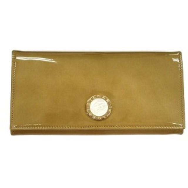 334c2a630c38 BVLGARI ブルガリ BB COLORE 33761 長財布 ファスナー式小銭入れ付き ゴールド 革小物(