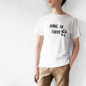 【Hang in There - PANDA】第2弾!しわくちゃTシャツ