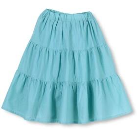 【50%OFF】 ブランシェス ティアードスカート(90~140cm) レディース サックス 90cm 【branshes】 【セール開催中】