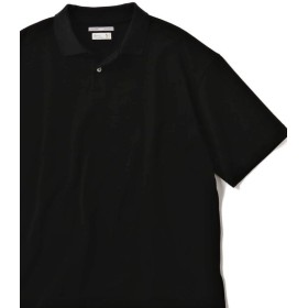 【55%OFF】 シップス SU: ビッグ 鹿の子 ポロシャツ メンズ ブラック MEDIUM 【SHIPS】 【タイムセール開催中】