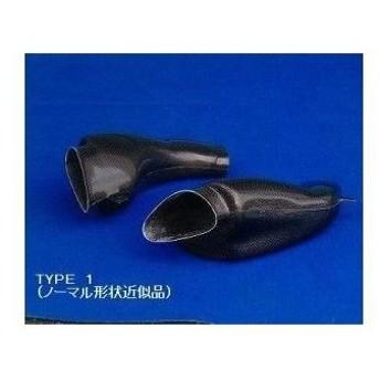 クレバーウルフ GSX-R1000 GSX-R600 エアーダクト・タイプ1 黒FRP